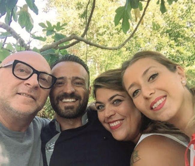 Domenico Dolce in a selfie