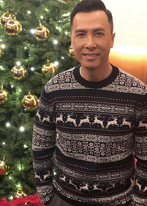 Donnie Yen as seen on his Instagram Profile in December 2017