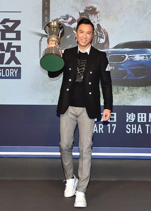 Donnie Yen as seen on his Instagram Profile in March 2019