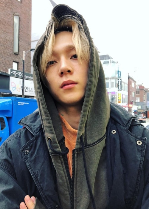 E'Dawn as seen while posing for the camera in January 2019