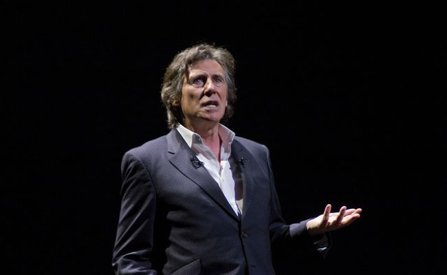Gabriel Byrne Keynote in Madrid in November 2011
