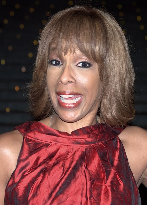 Gayle King at the Vanity Fair Kickoff Part for the Tribeca Film Festival in 2009
