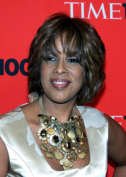 Gayle King in North Carolina in 2010