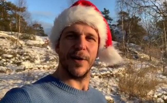 Gustaf Skarsgård as seen on his Instagram Profile in December 2018