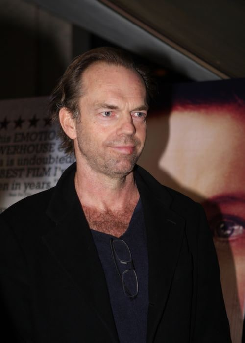 Hugo Weaving at the Oranges Sunshine Premiere