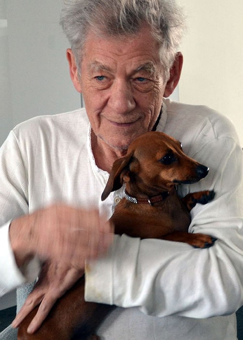 Ian Mckellen as seen on his Instagram Profile in August 2018