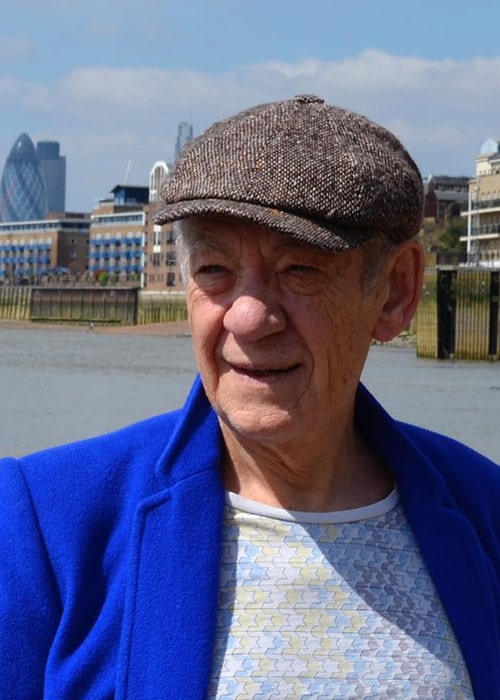 Ian Mckellen as seen on his Instagram Profile in May 2018