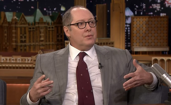 James Spader on The Tonight Show Starring Jimmy Fallon in January 2019