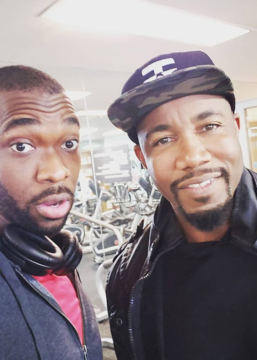 Jay Pharoah with Michael Jai as seen on his Instagram Profile in January 2019