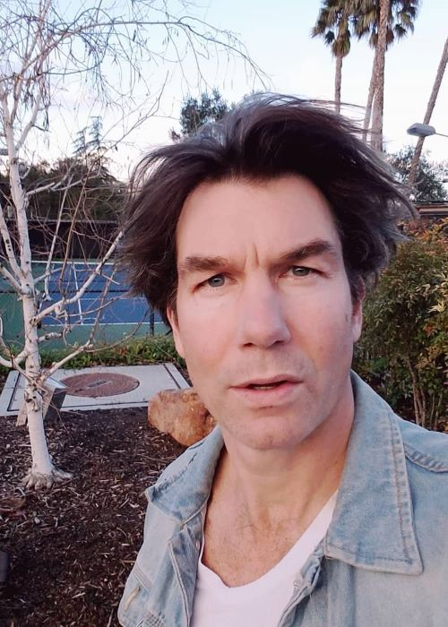 Jerry O'Connell in an Instagram Selfie in February 2019