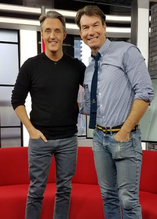 Jerry O'Connell with Ben Mulroney as seen on his Instagram Profile in February 2019