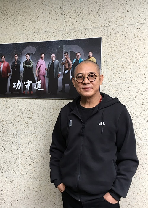 Jet Li as seen on his Instagram Profile in Novemeber 2017