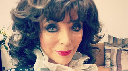 Joan Collins Height Weight Age And Body Statistics