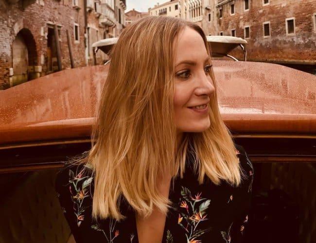 Joanne Froggatt at Venice as seen in September 2018