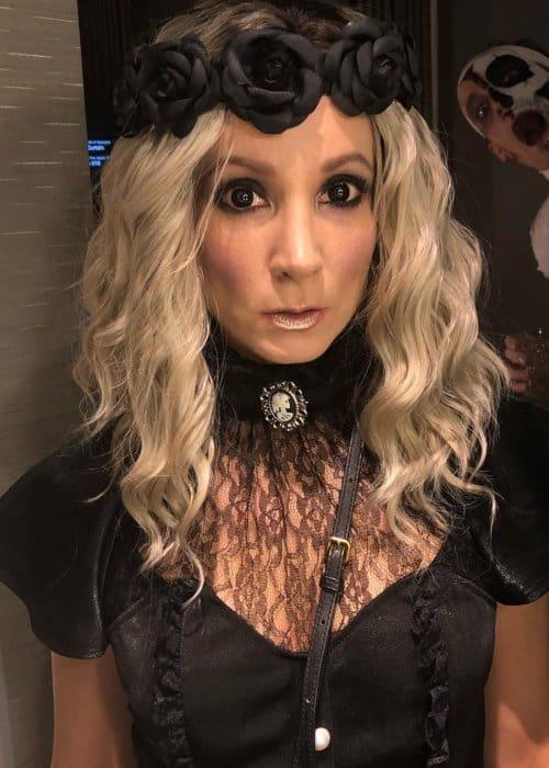 Joanne Froggatt in an Instagram post as seen in October 2018