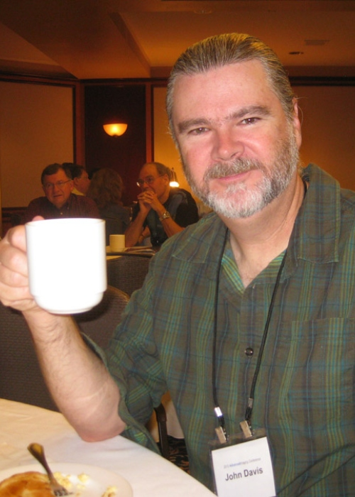 John A. Davis as seen in a picture taken during Advanced Imaging Conference in 2010