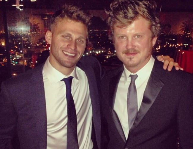 Jon Rudnitsky (Left) and Beau Willimon as seen in September 2013
