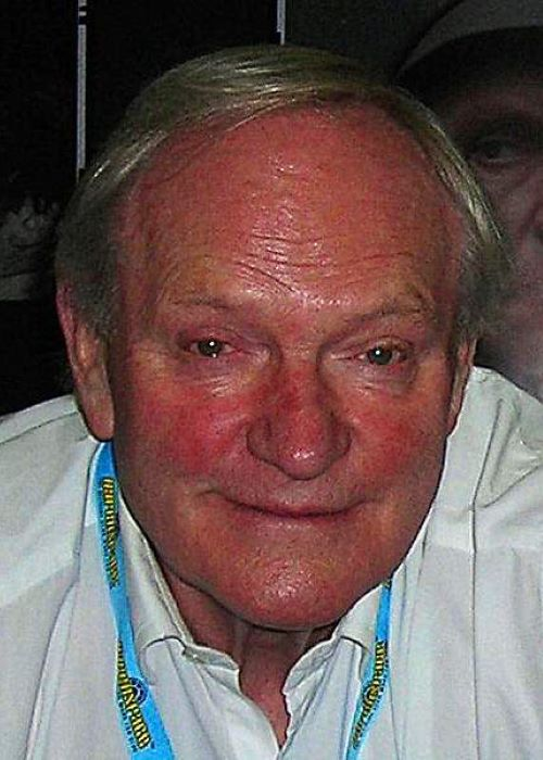 Julian Glover at Star Wars Celebration in London as seen in July 2007