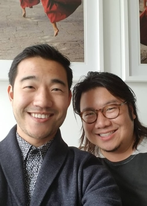 Kevin Kwan as seen in a selfie taken in New York in June 2018