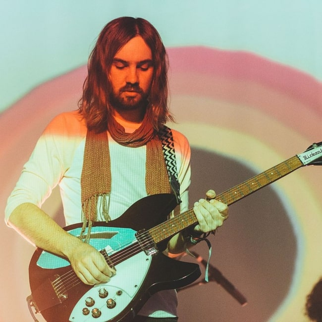 Kevin Parker as seen in a picture taken in June 2014