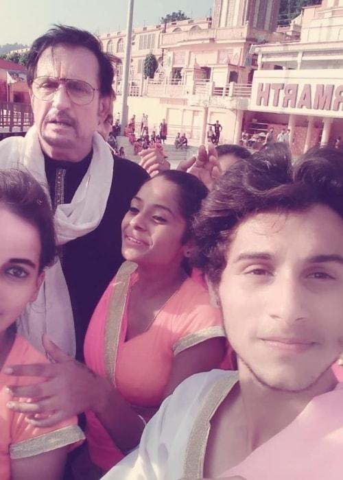 Kiran Kumar as seen in a selfie taken in September 2018