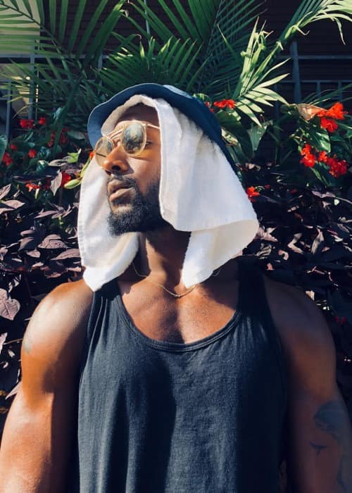 Kofi Siriboe in an Instagram post in August 2018