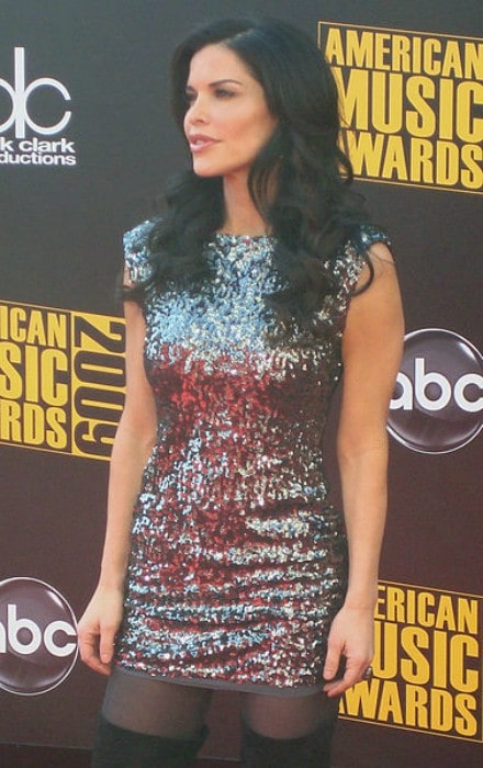 Lauren Sánchez as seen at the American Music Awards in 2009