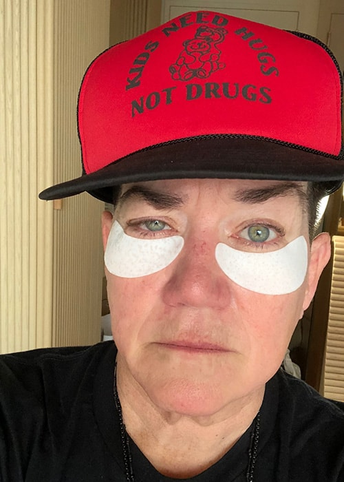 Lea DeLaria as seen on her Instagram in July 2018