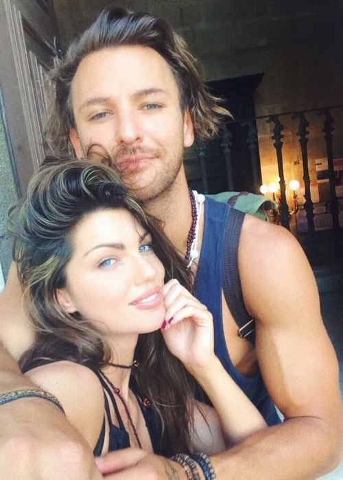 Louise Cliffe as seen in a selfie with Stuart Pilkington in April 2018