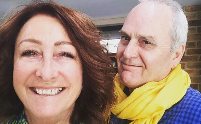 Lynne McGranger in an Instagram Selfie with her Husband