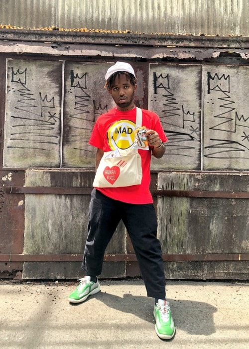 MadeinTYO as seen in July 2018