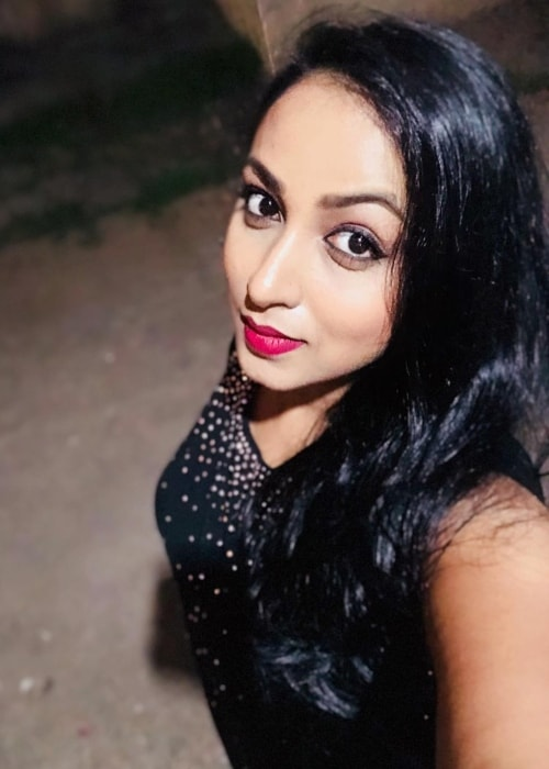 Madhusree Sharma as seen in a selfie taken in March 2019