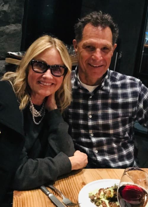 Maureen McCormick and Michael Cummings as seen in February 2019