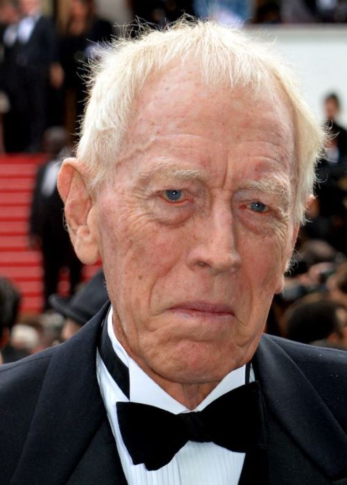 Max von Sydow at the Cannes Film Festival in May 2016