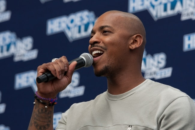 Mehcad Brooks as seen while speaking during an event in May 2017