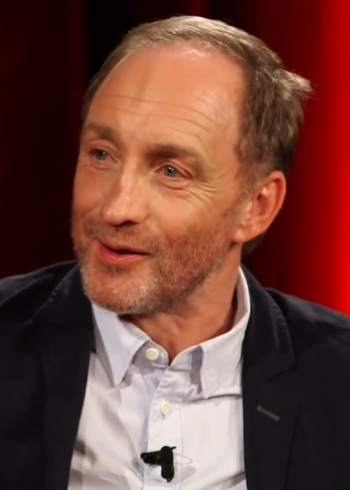 Michael McElhatton during an interview in July 2015