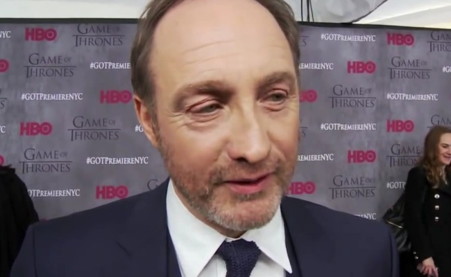 Michael McElhatton during an interview in March 2014