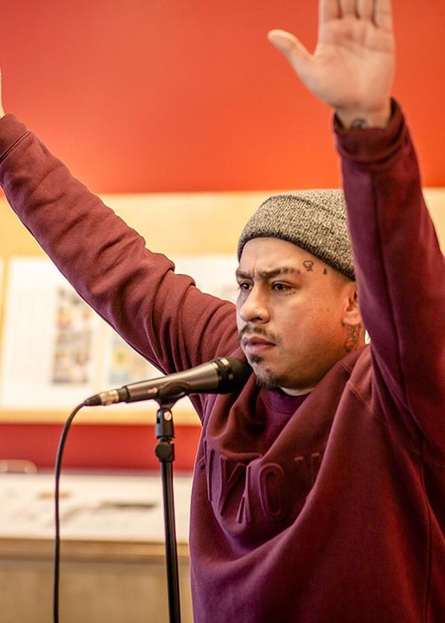 Mike Mictlan as seen on his Instagram Profile in February 2016Mike Mictlan as seen on his Instagram Profile in February 2016