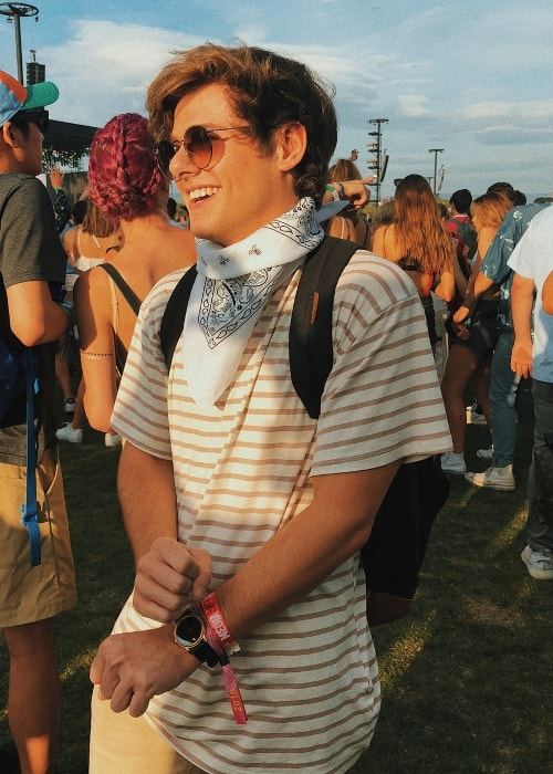 Mikey Murphy as seen while attending Coachella in 2017