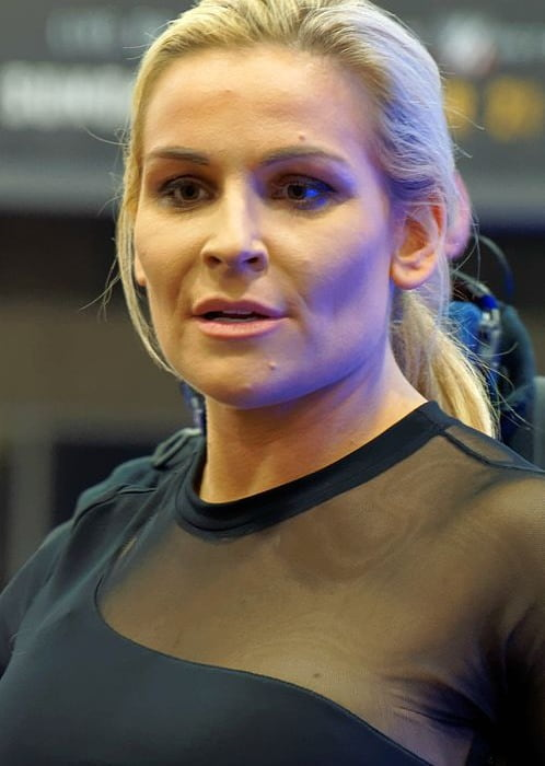 Natalya Neidhart during the WrestleMania 32 Axxess in April 2016