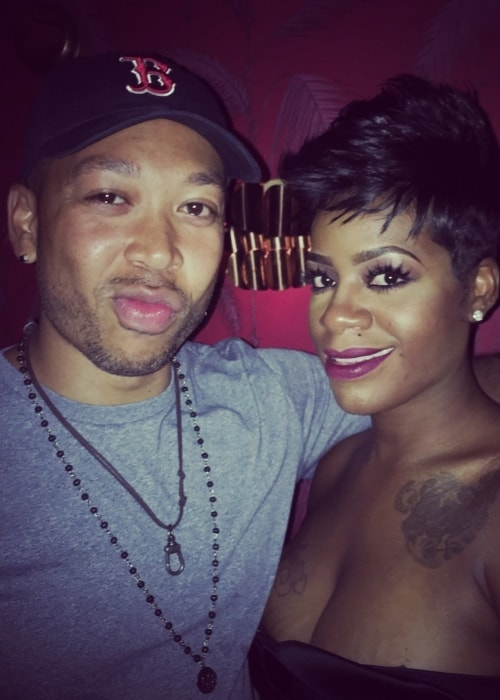 Nelsan Ellis as seen in a picture with his good friend singer-songwriter Fantasia Barrino in December 2016