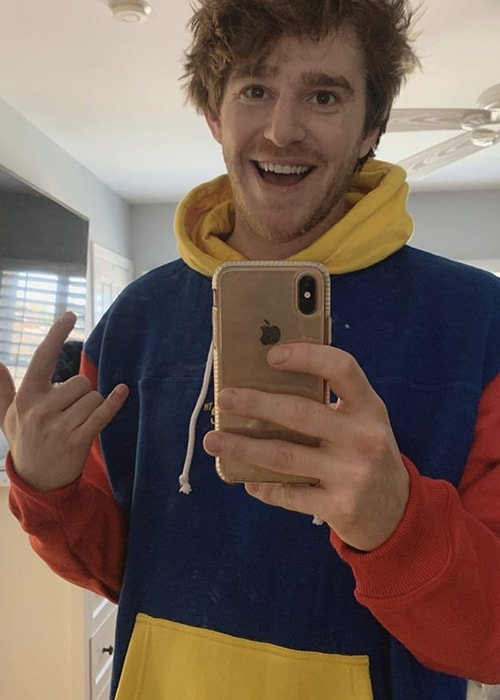 Nghtmre in a Mirror Selfie as seen on his Instagram Profile in February 2019
