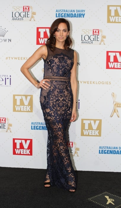 Nicole da Silva as seen while posing at the 2016 TV Week Logie Awards