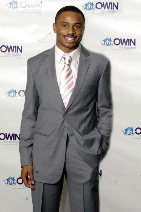 Nnamdi Asomugha as seen while posing for the camera at the Owin Annual Fund Raising Event in March 2009