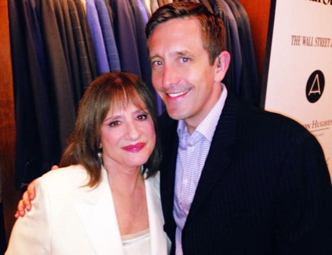 Patti LuPone and Brian Doherty as seen in June 2014