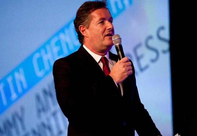 Piers Morgan at Digitas NewFront in April 2012