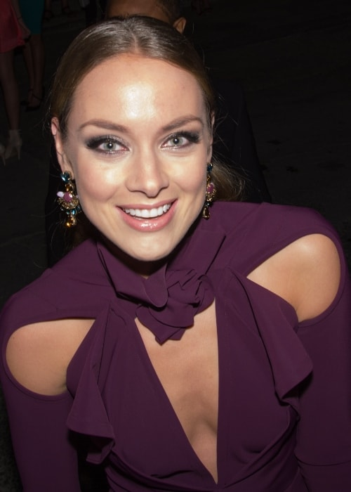Rachel Skarsten as seen at the HFPA & InStyle's 2014 TIFF Celebration event