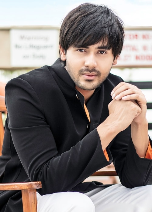 Randeep Rai as seen in a picture taken during a photoshoot in July 2018