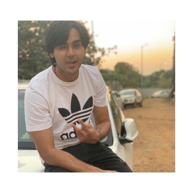 Randeep Rai as seen in a picture taken in December 2018
