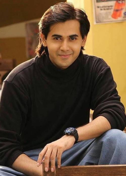 Randeep Rai as seen in a picture taken on the set of Yeh Un Dinon Ki Baat Hai in September 2017